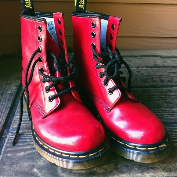 70cdc6bb1 Dr. Martens Shoes | Dr Martens 1460 Airwair Leather Boots | Poshmark